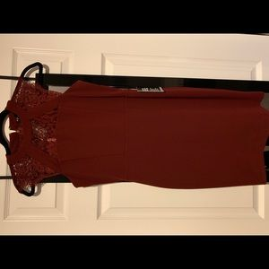 Express Dresses - Express Burgundy dress